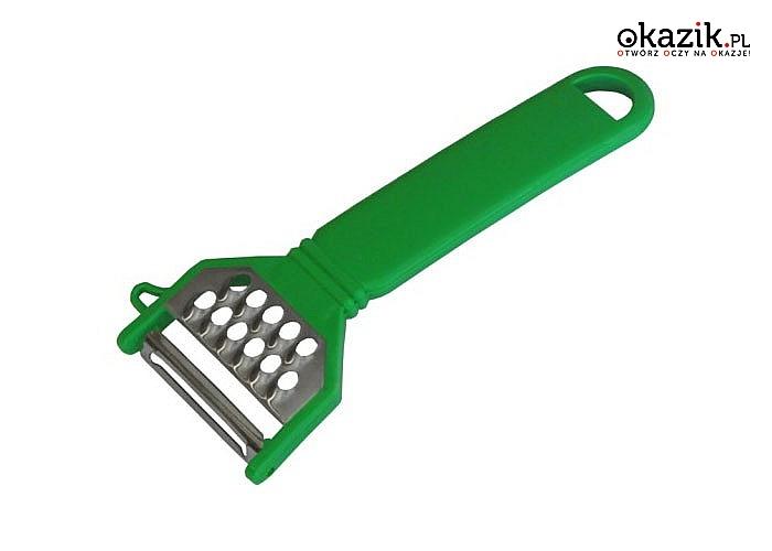 Ergonomiczna budowa, obrotowy nóż