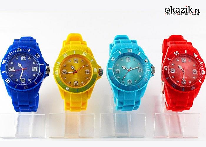 Zegarek silikonowy