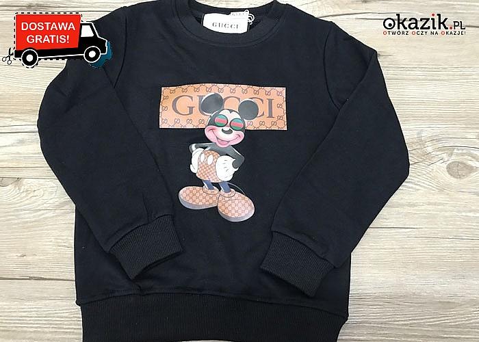 Bluza dziecięca GUCCI z Myszką Miki
