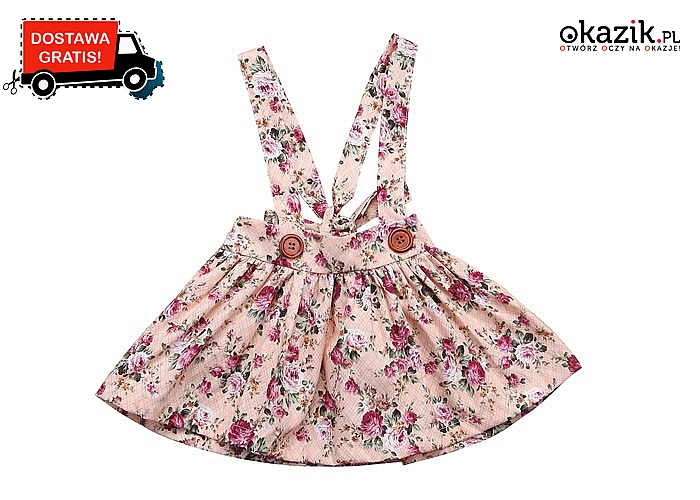 Sukienka - ogrodniczka