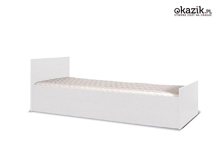 Łóżko Pojedyncze Ze Stelażem