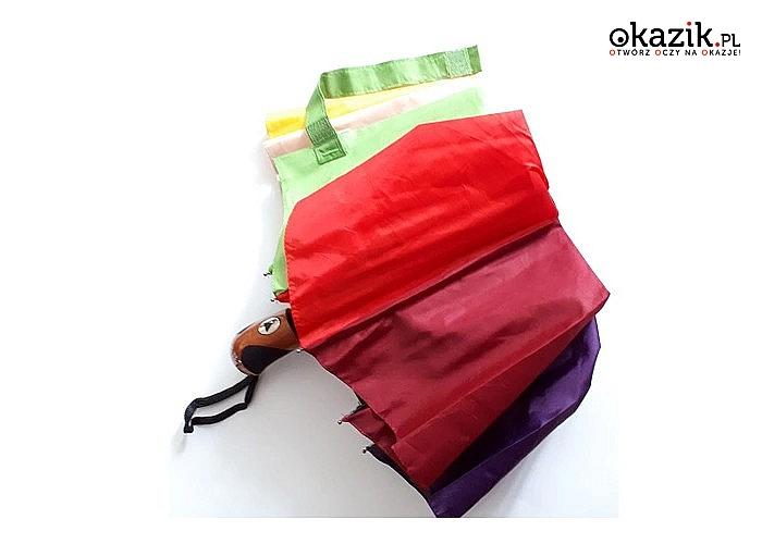 Automatyczny parasol składany