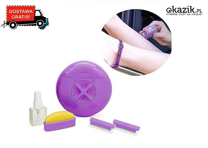 Przenośna maszynka do golenia