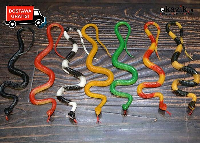 Wąż – JAK PRAWDZIWY!