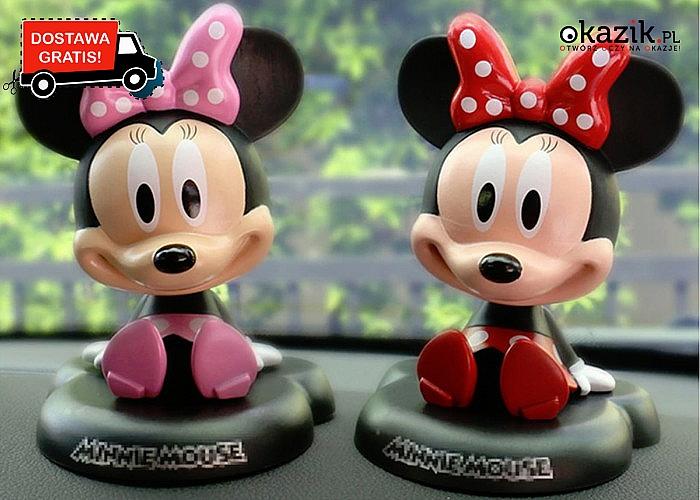 Kiwająca główka Myszki Mickey/Minnie