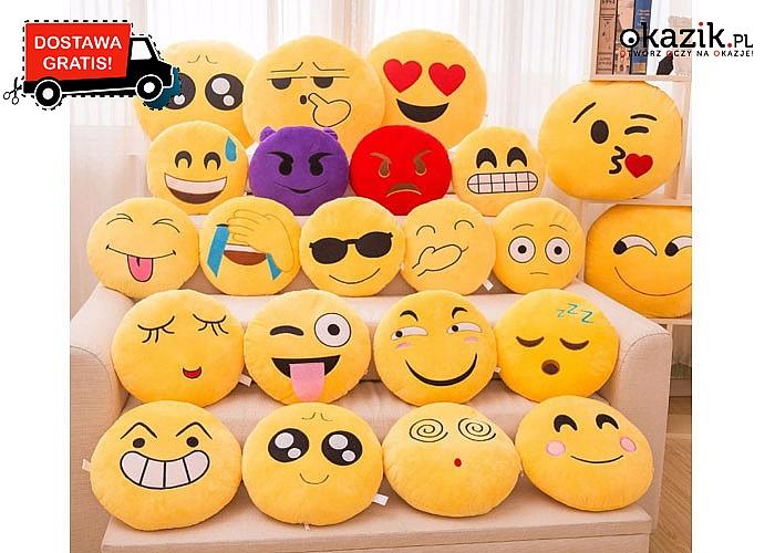 Wesołe poduszki - emotikony