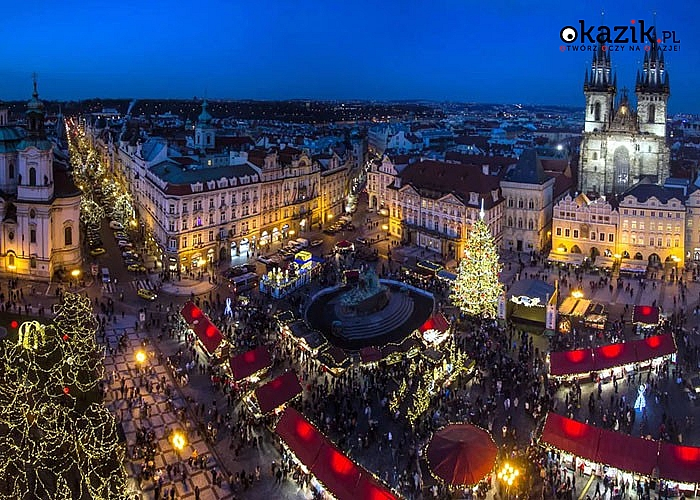 Jarmark Bożonarodzeniowy w Pradze