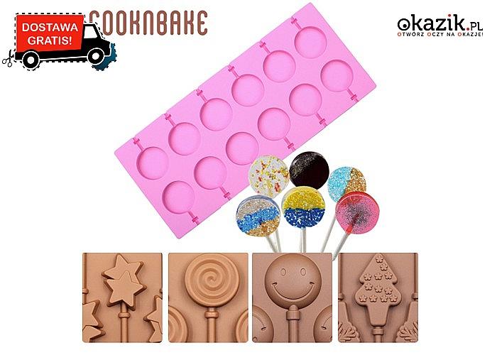 Silikonowe formy do słodyczy