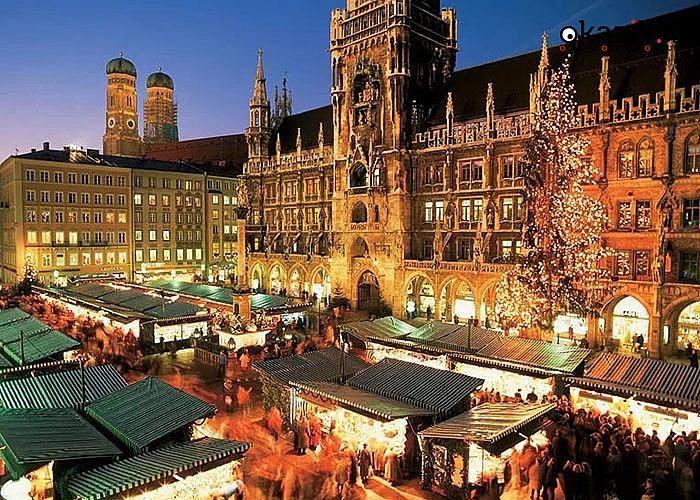 Świątecznie w Monachium