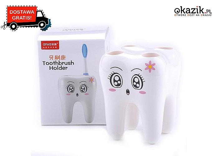 Zębowy kubeczek na szczoteczki do zębów!