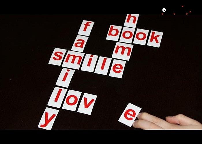 Alfabet,magnetyczne kafelki