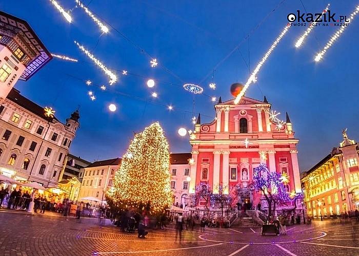 Jarmark adwentowy w Lublanie