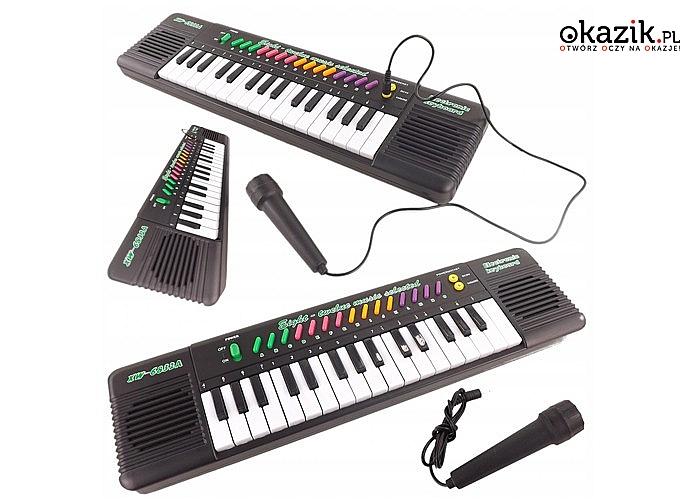 Zabawkowy keyboard