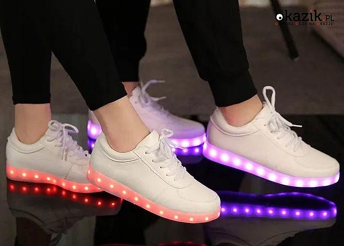 Buty świecące