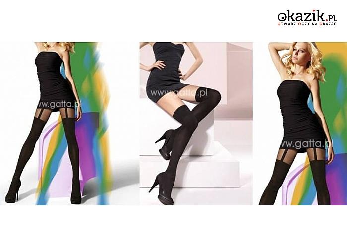 6648af103bded7 Rajstopy i zakolanówki marki GATTA! Idealne do jesiennych stylizacji ze  spódniczkami i sukienkami w rolach