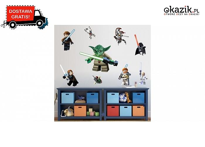 Naklejka Na Sciane Star Wars Lego