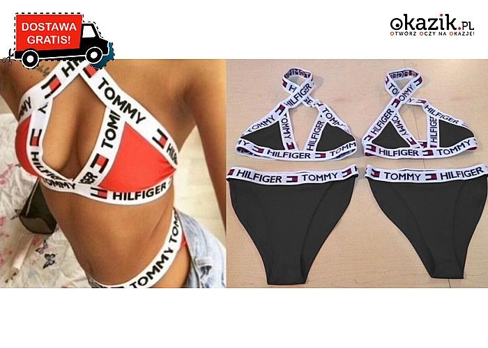 4f9f22033bf6a Kostium kąpielowy typu bikini, Tommy Hilfiger, różne kolory i wymiary.  Wysyłka GRATIS!