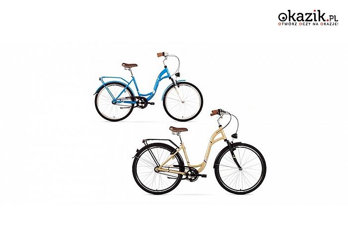ROWER MIEJSKI Arkus to komfortowa i bezpieczna jazda dla każdego! Dostępne 2 modele.