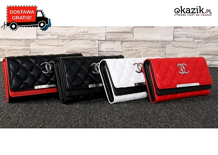 33c6e01ce03a7 Elegancki portfel dla każdej kobiety! 4 modele od Chanel. Przesyłka GRATIS!
