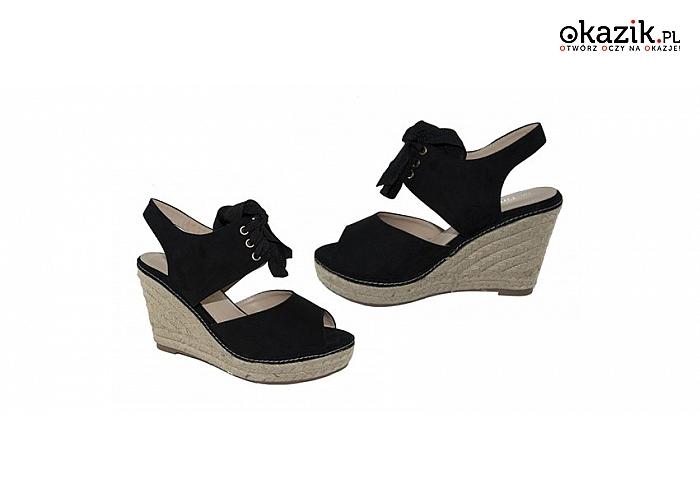 eb0924d8 Eleganckie buty damskie na wysokich koturnach: klasyczny styl, elegancja i  wygoda. (39