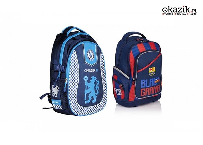 a96360d9679a4 Piłkarskie plecaki   tornistry dla fanów piłki nożnej – w klubowych  barwach. (od 89