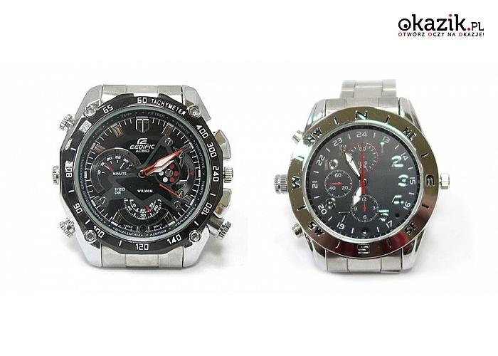 To już przyszłość czyli zegarek szpiegowski! Dwa dostępne modele (Od 95 zł)