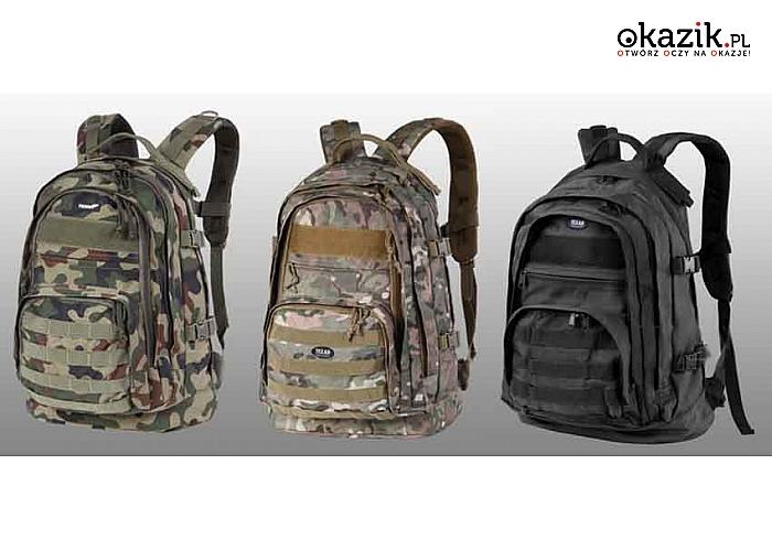 PLECAK CADET 50x30x25cm/35l od Texar. Wybierz swój model spośród 5 dostępnych!