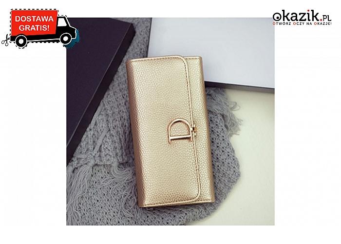 7bb57f41da52b W najmodniejszym stylu! Luksusowy portfel damski Dior!(75zł)