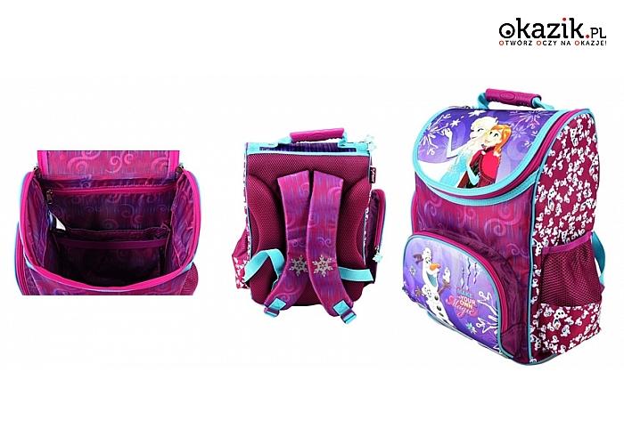Zestawy szkolne z bajkowymi bohaterami: plecaki, piórniki, worki na buty + opcjonalne przybory szkolne! (od 146 zł)