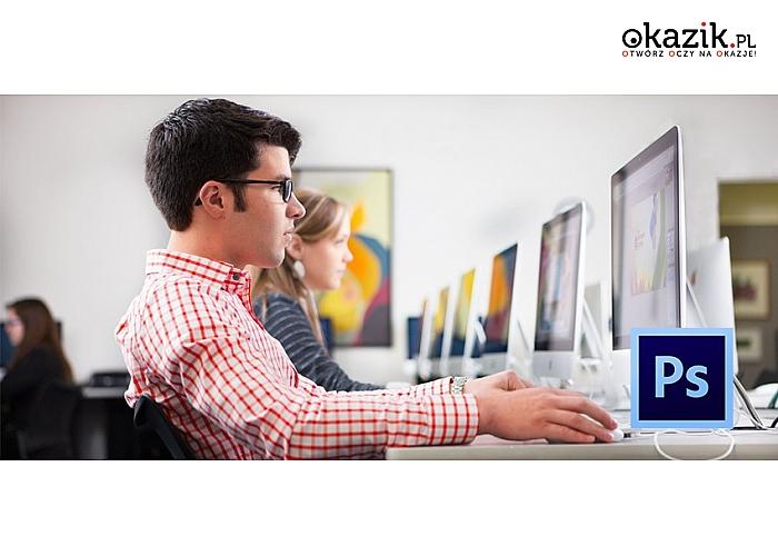 E-learningowy kurs Adobe Photoshop CS6. Egzamin i Certyfikat on-line! (od 63 zł)