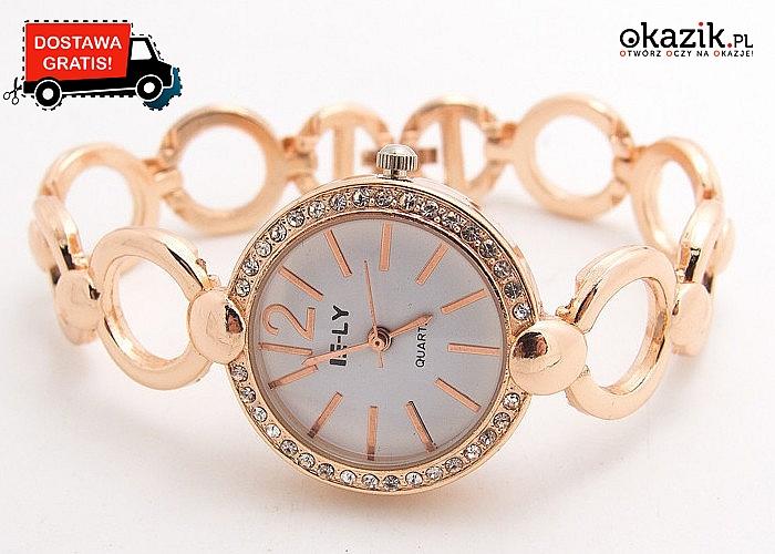 Damski zegarek na oszałamiającej bransolecie, który sprawi, że wyróżnisz się w tłumie i poczujesz się wyjątkowo