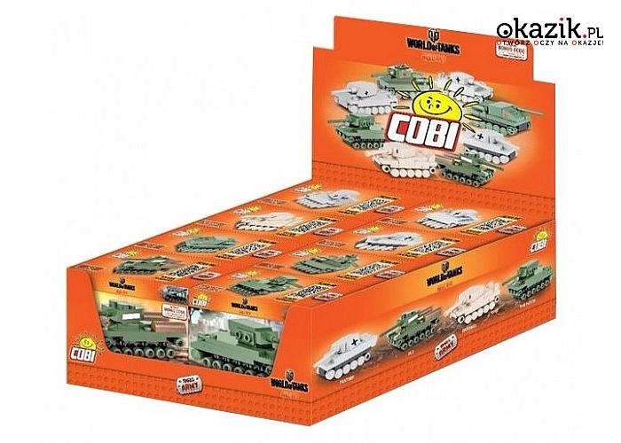 Cobi Klocki: Small Army 3028 Nano Tank