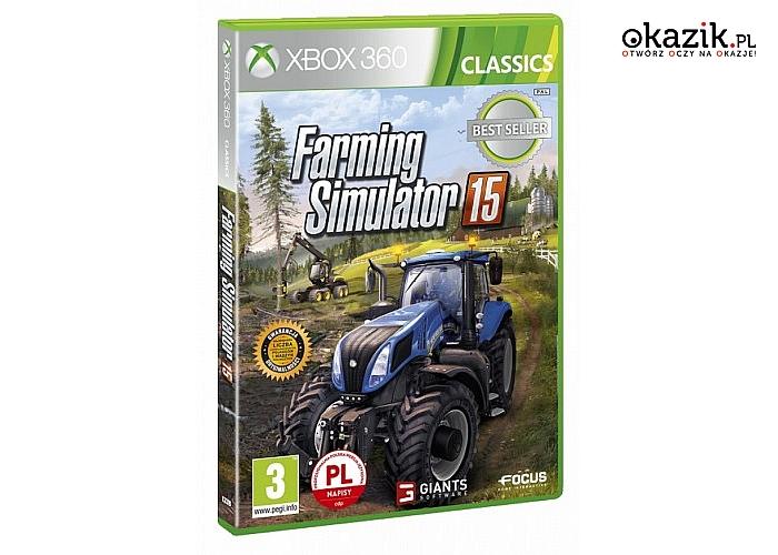 CD Projekt: Farming Simulator 2015 Xbox CLASSIC