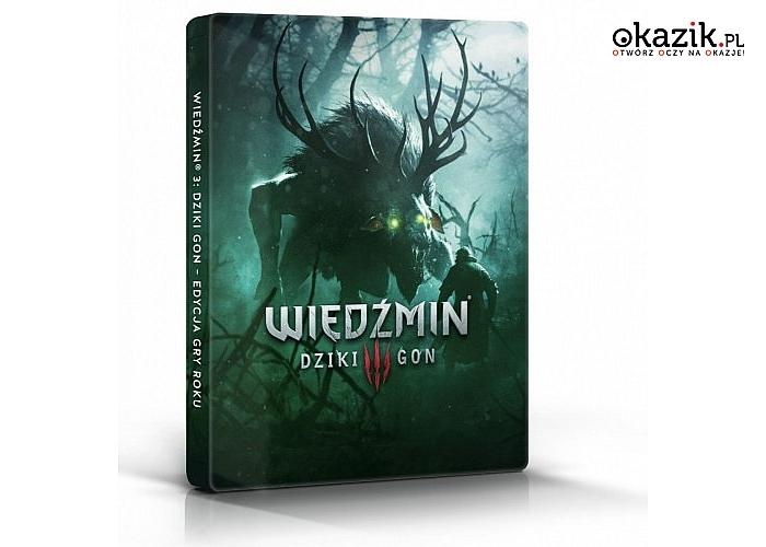 CD Projekt: Gra PC Wiedźmin 3 Ed. 10 Lecia w STEELBOOK