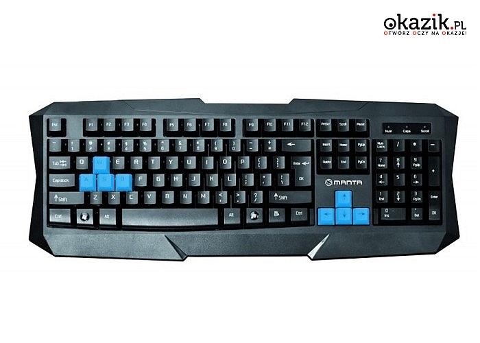 Manta: USB GAME KEYBOARD MM902N