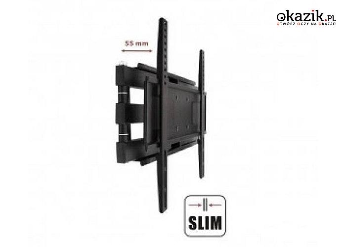 "Uchwyt do TV LED/LCD/PLAZMA AR-70ART 23-55"" 45KG reg.pion/poziom"