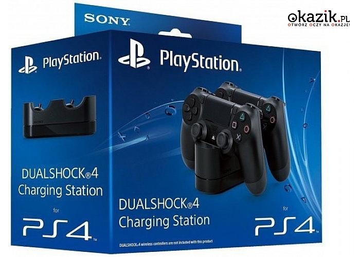 Sony: PS4 Dualshock Charging! Stacja ładowania!