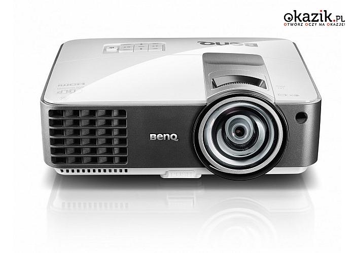 Benq: PJ  MX819ST DLP 3500ANSI/13000:1/HDMI/