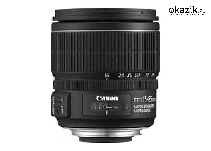 Canon: EF-S 15-85MM 3.5-5.6 IS USM 3560B005