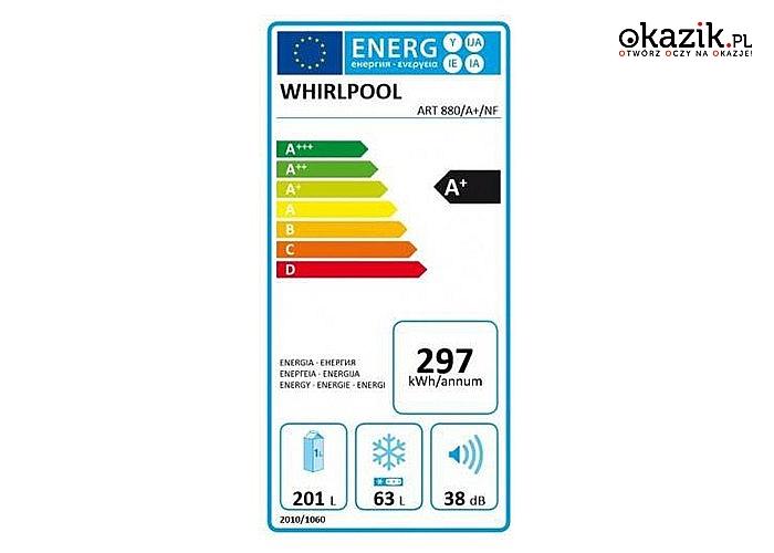 Whirlpool: Chłodziarko-zamrażarka ART880/A+/NF
