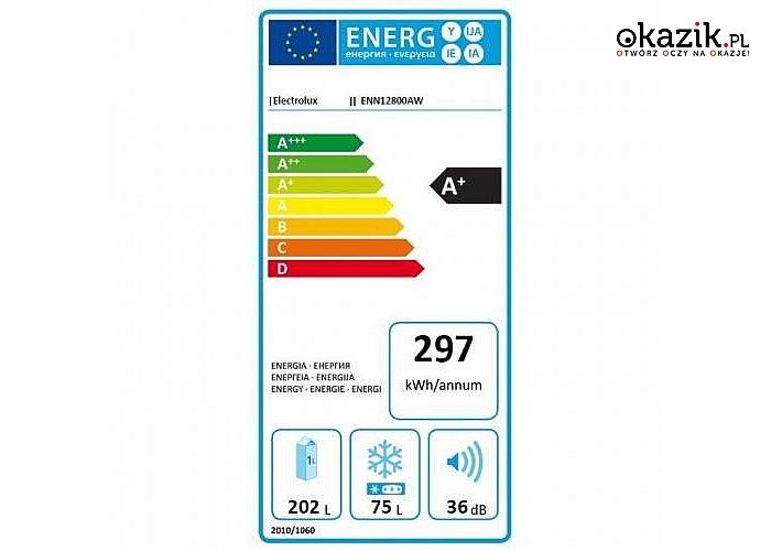 Electrolux: Chłodziarko-zamrażarka ENN12800AW