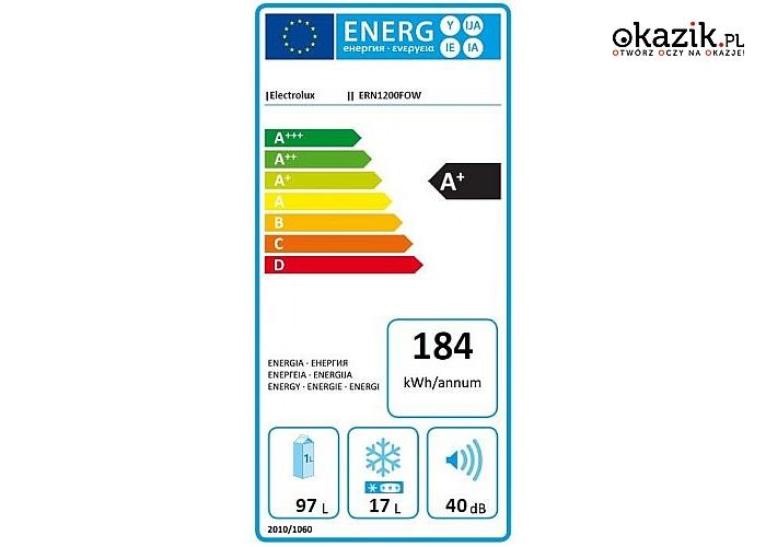 Electrolux: Chłodziarko-zamrażarka ERN1200FOW