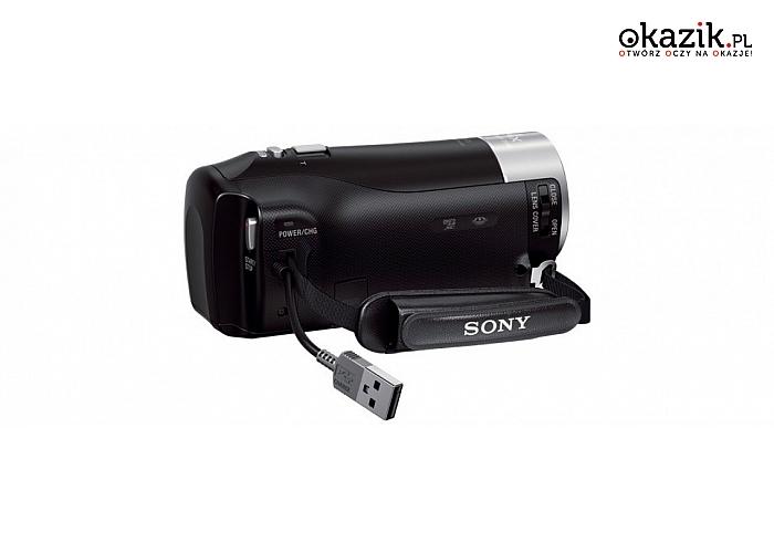 Sony: Kamera Handycam HDR-CX240 black