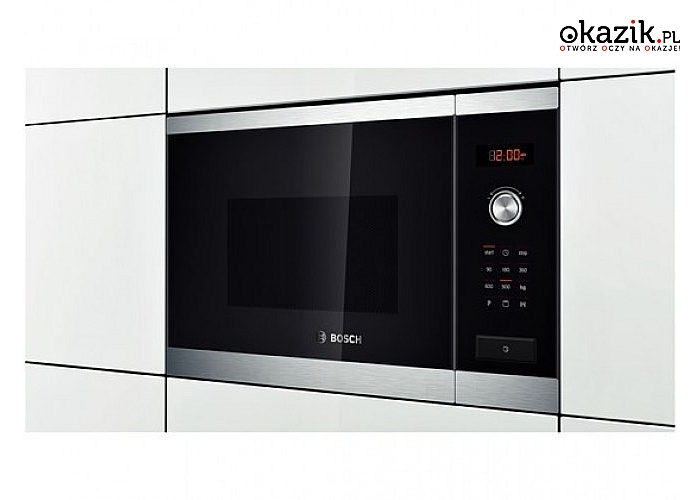 HMT84G654 Kuchnia mikrofalowa Bosch. Moc 900 W, moc grilla 1200 W+ pojemność 25 L