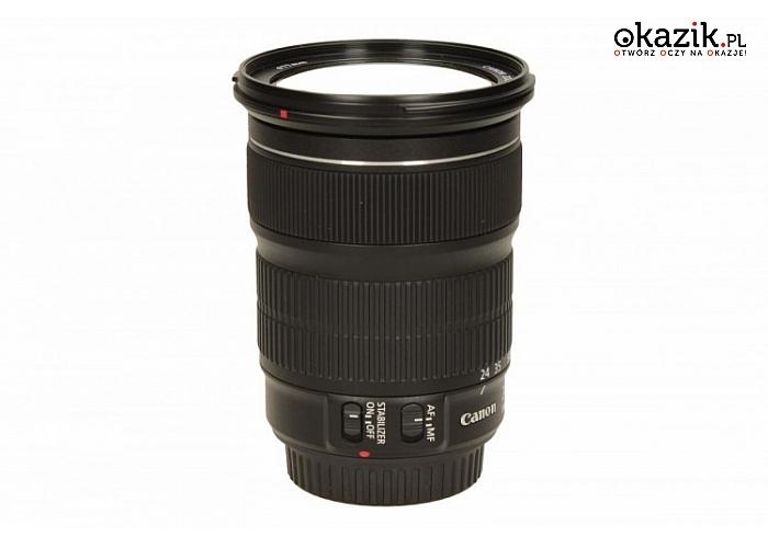Canon: Zoom obiektyw EF 24-105mm f/3.5-5.6 IS