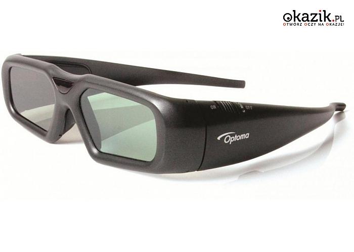 Optoma: ZF2300 okulary 3D bezprzewodowe + emiter