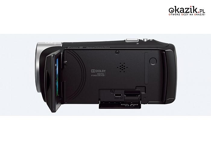 Sony: HDR-CX405 kamera 30xOZ,foto 9,2Mpix