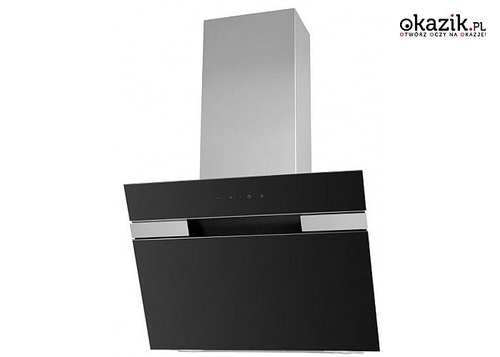 Amica: OKC651S Okap kominowy ze sterowaniem sensorycznym