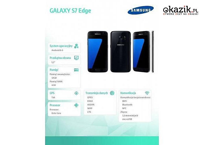Wspaniały Samsung GALAXY S7 Edge Black