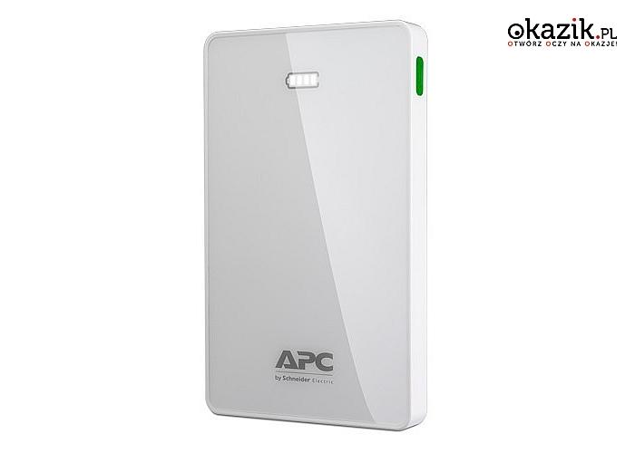 APC: M10WH-EC Power Bank 10000mAh Li-polymer Biały